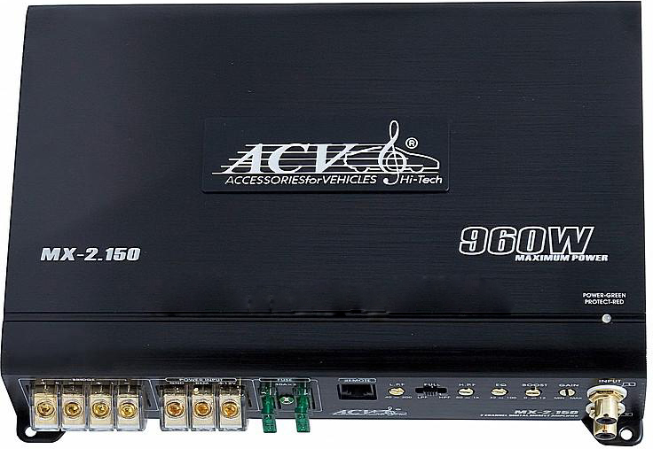 Автомобильный усилитель AVC LX-4.60 - фото 11